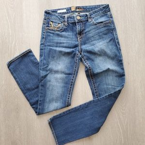 Kut from the Kloth Stevie Straight Leg Jean Size 4